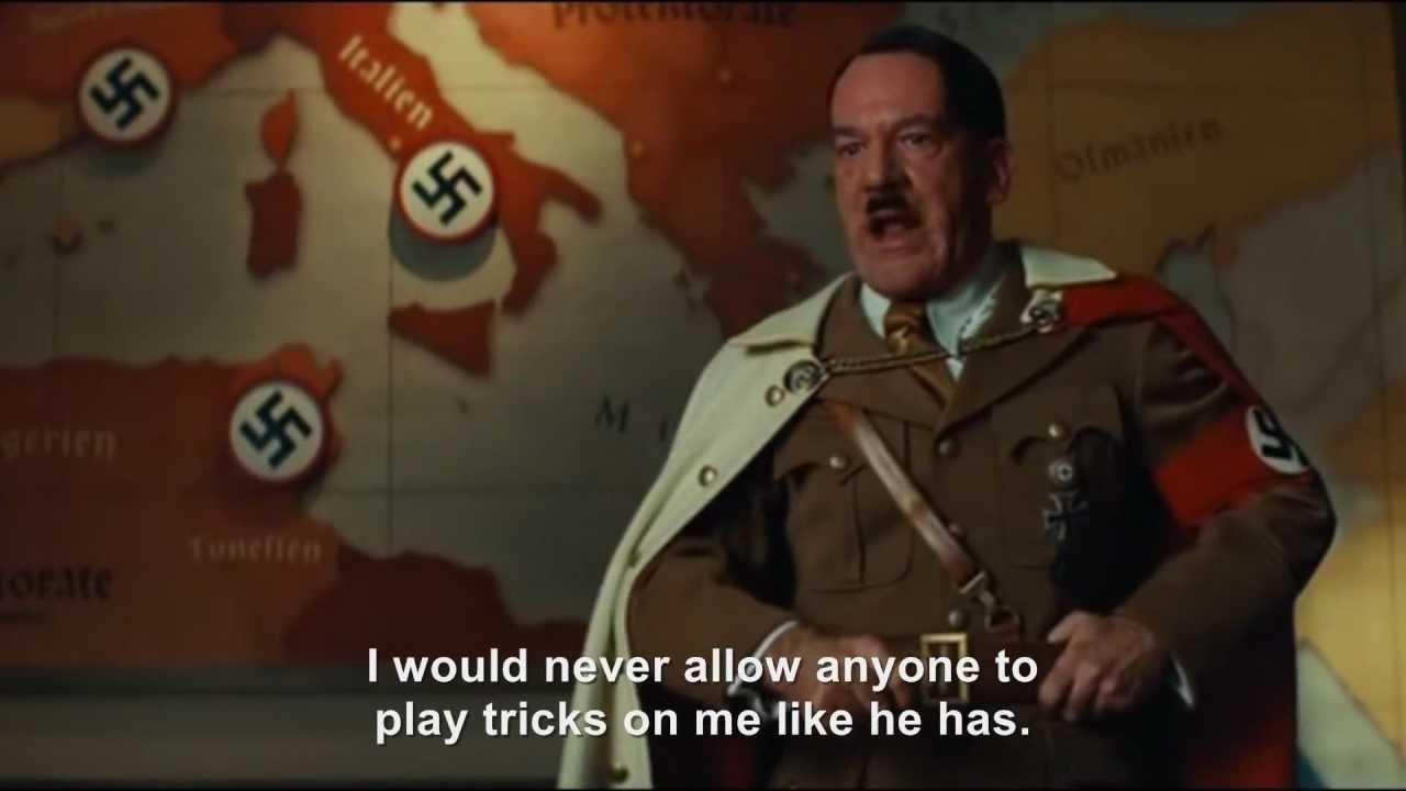 Hitler rants about Hitler