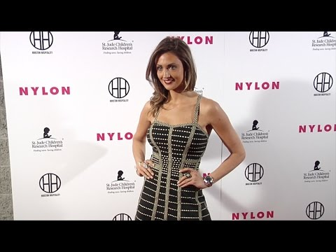 "Katie Cleary NYLON ""Muses & Music"" Grammy Pre-Party Red Carpet in Los Angeles"
