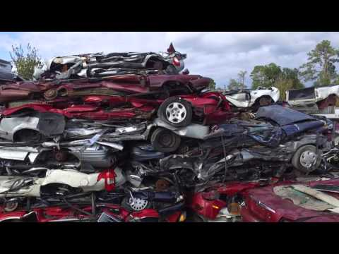 salvage yard video