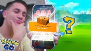 OPENING RESEARCH BREAKTHROUGH BOX WEEK 2 in Pokémon GO!