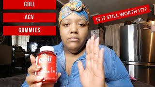 Goli Apple Cider Vinegar | 1 Month Update
