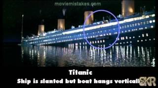 Titanic 3D - Movie Mistakes: Titanic (1997)