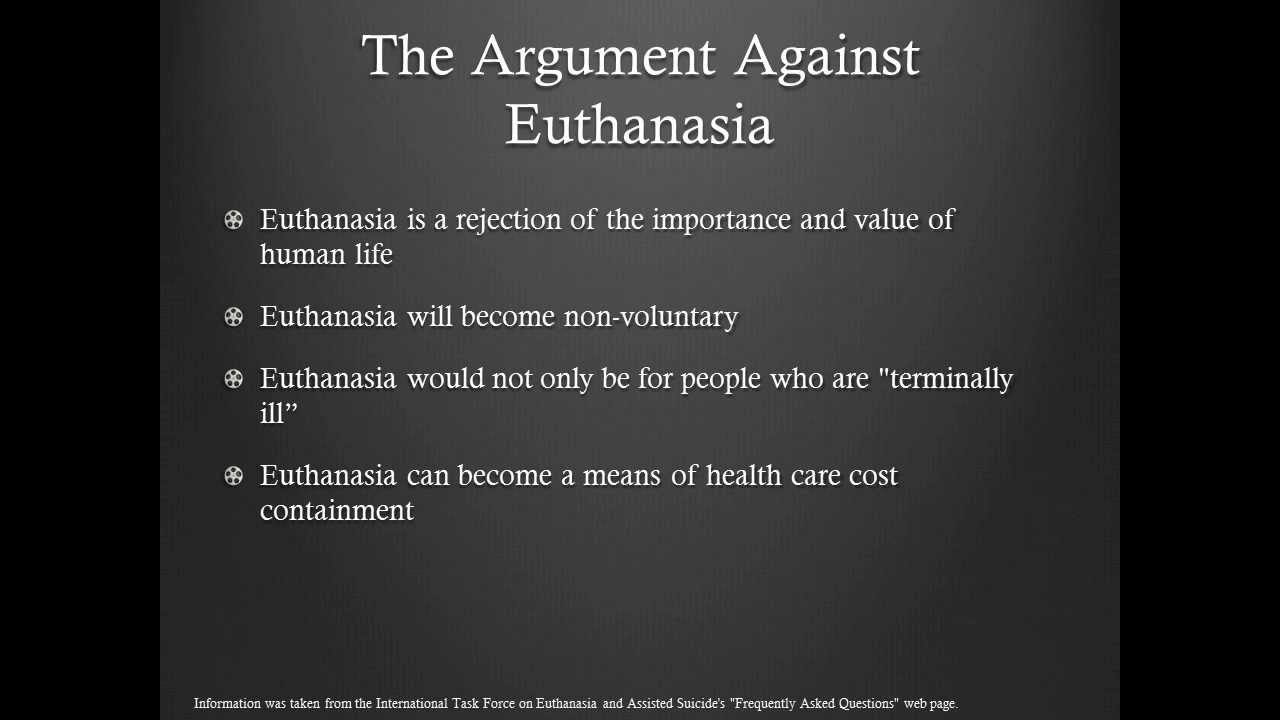 Euthanasia Essay Introduction