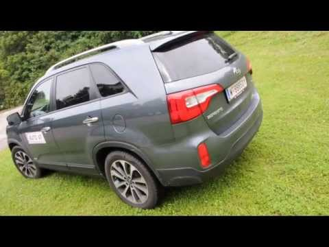 Kia Sorento im Auto.At Test 2013
