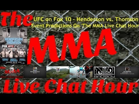UFC on FOX 10: Benson Henderson vs. Josh Thomson Event Predictions On 'The MMA Live Chat Hour'