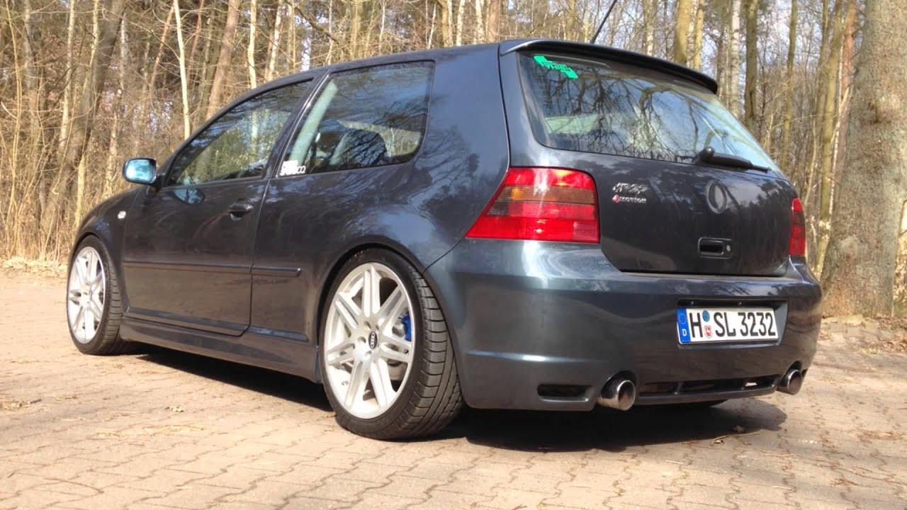 volkswagen golf iv r32 sound impressionen youtube. Black Bedroom Furniture Sets. Home Design Ideas