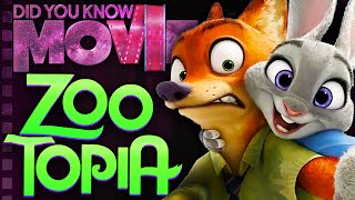 How The Fox's Story Almost Ruined Zootopia - Did You Know Movies ft. PushingUpRoses
