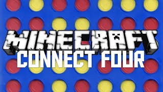 Minecraft: CONNECT FOUR CREATION! (MC MINI GAME CREATION)