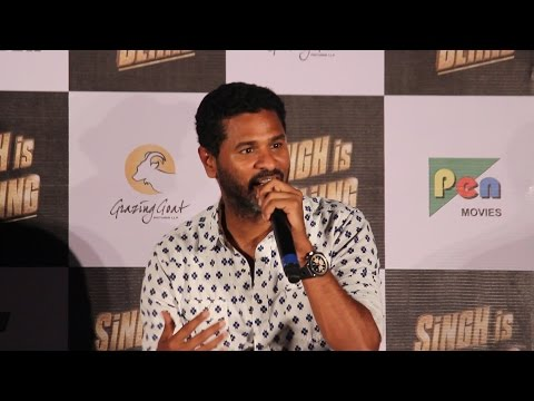 Prabhu Deva Full Speech | Director | Singh Is Bling Trailer Launch