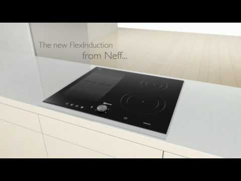 Neff flex induction hob youtube for Induktionskochfeld neff