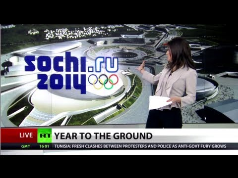 Year to Olympics: Putin slams Sochi delays, fires high officials