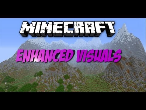 Minecraft Enhanced Visuals Mod [1.4.7] German [Vorstellung+Installation]