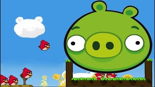 Angry Birds Cannon 3 Love Skill Game Walkthrough All Levels 1-36