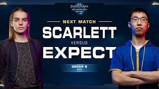 Scarlett vs ExpecT ZvT - Ro32 Group B - WCS Winter - Americas