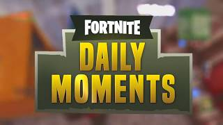 Fortnite daily moments