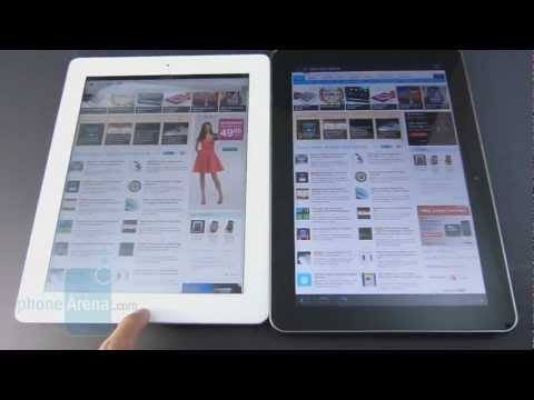 Apple iPad 3 vs Samsung Galaxy Tab 10.1