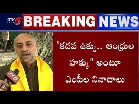 Union Minister Birender Singh Shocks TDP MP's | TV5 News