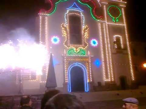 Ref�ios do Lima Ponte de Lima Festa Sant�ssimo Sacramento. Fogo de Artif�cio 2011/07/16.
