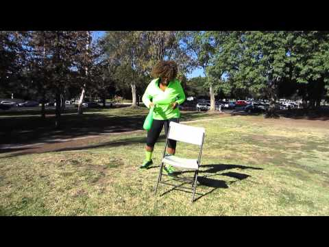 Girl Beats Chair With Bat and Chair Wins ... oxox - GloZell