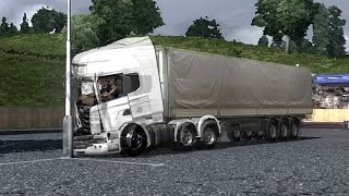 PhysX in ETS2 Crash Test - Euro Truck Simulator 2 - Движок PhysX в  ЕТС 2