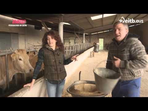 Sandra, urbanita de Galdakao convertida en ganadera