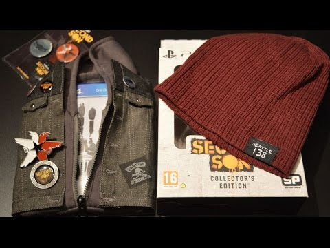 Unboxing Infamous: Second Son - Collector's Edition