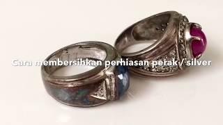 Cara membersihkan perhiasan cincin perak / silver