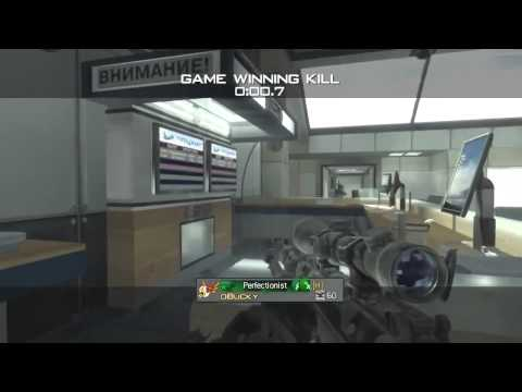 Raw Clip #55: MW3 Awesome Terminal Feed + 4 Man Killcam
