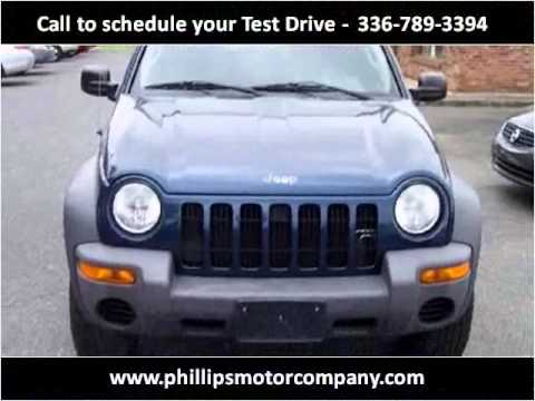 2003 Jeep Liberty Used Cars Mount Airy NC