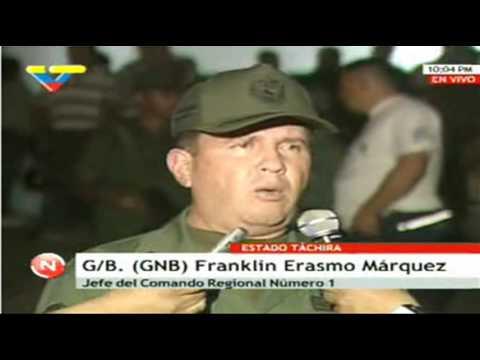 Asesinados por la espalda Dos Guardias Nacionales de Venezuela en la frontera con Colombia