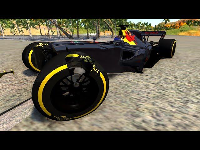 CRASHING MY NEW F1 CAR