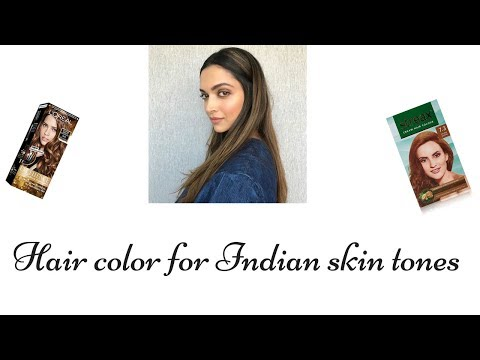 Hair color for Indian skin tone|Best Hair colour shades for Indian skin tones