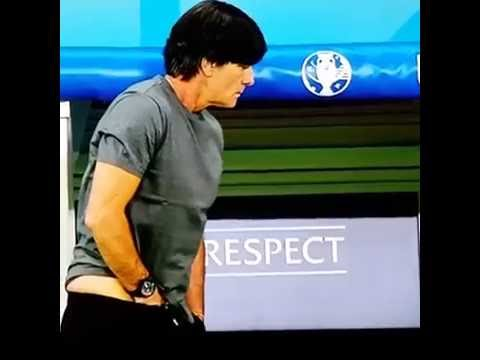 What Joachim Loew do? Did you see this? Germany - Ukraine, Euro 2016