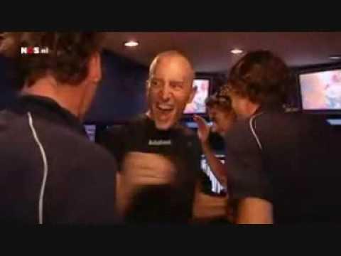 Reactie Team Rabobank na val Denis Menchov