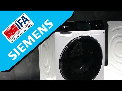 IFA 2017: Siemens Home Appliances