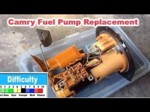 Camry 1997 1998 1999 2000 2001 fuel pump replacement