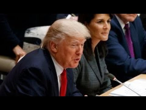 President Trump calls to change the culture at the UN