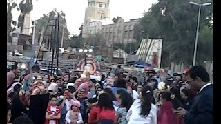 ورشة رقص هندي على هامش مهرجان الهند على ضفاف النيل