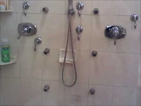Shower Body Jets Youtube