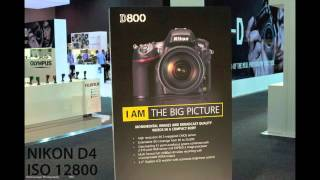 Nikon D4 vs D800 - HIGH ISO