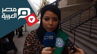 مصر العربية | طلاب جامعة مصر للعلوم يتظاهرون امام مجلس الدولة