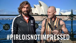 Pirlo is not impressed!