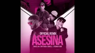Asesina Remix Brytiago Feat Anuel Aa Ñengo Flow Darell Oficial Audio