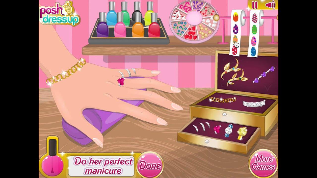 Для девочек одевалки и макияж и причёски и маникюр на оценку