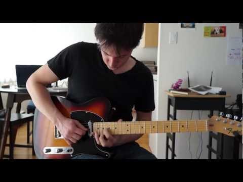 Joe Robinson - Barely Hangin On (Guitar Cover with Tab)