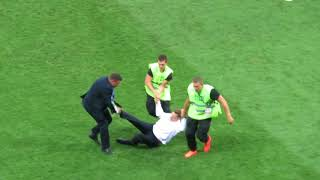 Pitch invasion in 2018 World Cup Final