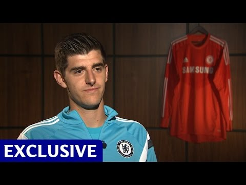Thibaut Courtois: Exclusive first interview