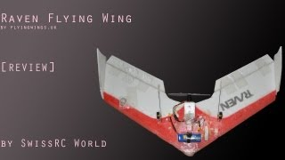[REVIEW] Raven flyingwing 680mm with FPV by SwissRC World