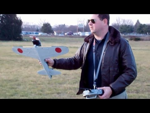 Eflite A6M5 Zero Flight Review and Debriefing