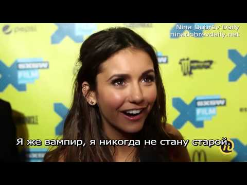 Nina Dobrev At The